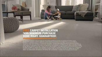 The Home Depot TV Spot, 'Filled With Memories: Free Carpet Installation: $499 Minimum'