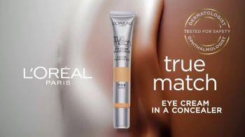 L'Oreal Paris True Match Eye Cream in a Concealer TV Spot, 'Hydration' Ft. Elle Fanning, Aja Naomi King - Thumbnail 9