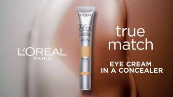 L'Oreal Paris True Match Eye Cream in a Concealer TV Spot, 'Hydration' Ft. Elle Fanning, Aja Naomi King