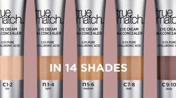 L'Oreal Paris True Match Eye Cream in a Concealer TV Spot, 'Hydration' Ft. Elle Fanning, Aja Naomi King - Thumbnail 8