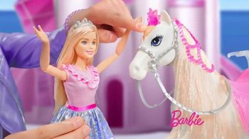 Barbie Princess Adventure Prance & Shimmer Horse TV Spot, 'Lights Up and Plays Music' - Thumbnail 2