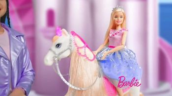 Barbie Princess Adventure Prance & Shimmer Horse TV Spot, 'Lights Up and Plays Music' - Thumbnail 5