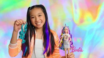 Barbie Fantasy Hair TV Spot, 'Shimmer and Shine' - 761 commercial airings
