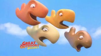 Goldfish TV Spot, 'The Great Outdoors: Episode Two: Great White Shark'