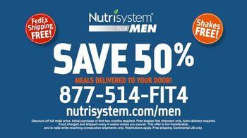 Nutrisystem for Men TV Spot, 'Living on Fast Food: Save 50% Off' - Thumbnail 8
