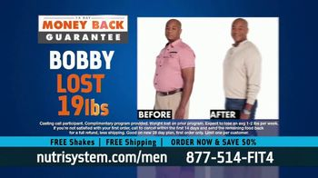 Nutrisystem for Men TV Spot, 'Living on Fast Food: Save 50% Off' - Thumbnail 5