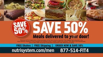 Nutrisystem for Men TV Spot, 'Living on Fast Food: Save 50% Off' - Thumbnail 7