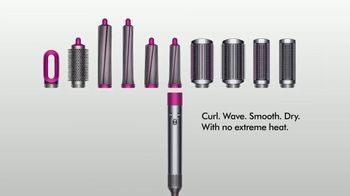 Dyson Airwrap Styler TV Spot, 'With Barrels To Curl Hair' - Thumbnail 9