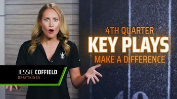 DraftKings Big Play Payday TV Spot, 'NFL: Fourth Quarter 20 Yard Touchdown'