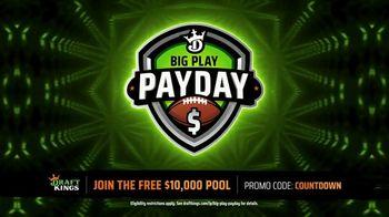 DraftKings Big Play Payday TV Spot, 'NFL: Fourth Quarter 20 Yard Touchdown' - Thumbnail 3
