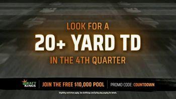 DraftKings Big Play Payday TV Spot, 'NFL: Fourth Quarter 20 Yard Touchdown' - Thumbnail 5