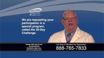 AccuQuest Hearing Centers TV Spot, '30 Day Challenge: 100% Digital' - Thumbnail 3