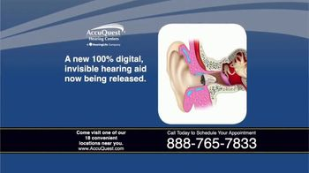 AccuQuest Hearing Centers TV Spot, '30 Day Challenge: 100% Digital'