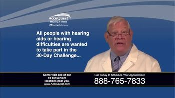 AccuQuest Hearing Centers TV Spot, '30 Day Challenge: 100% Digital' - Thumbnail 7
