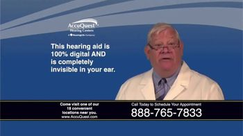 AccuQuest Hearing Centers TV Spot, '30 Day Challenge: 100% Digital' - Thumbnail 8