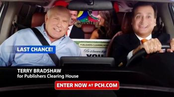 Publishers Clearing House TV Spot, 'Last Chance: One Day' Featuring Terry Bradshaw - 631 commercial airings