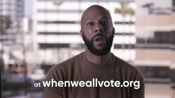 When We All Vote TV Spot, 'Don't Wait: Register to Vote Today' Featuring Kerry Washington, Common, Faith Hill - Thumbnail 7