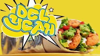 Del Taco Epic Crispy Chicken & Guac Burrito TV Spot, 'Del Yeah'