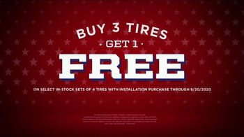 Big O Tires Labor Day Sales Event TV Spot, 'Buy Three, Get One Free, Plus Oil Change Deal'
