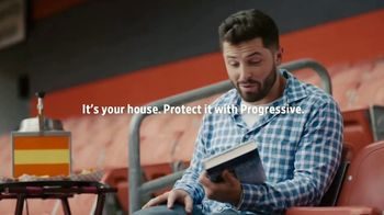 Progressive TV Spot, 'Baker Mayfield Joins Book Club' - 77 commercial airings