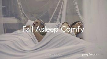 Purple Mattress Fall Sale TV Spot, 'Fall Asleep Comfy: Free Sheets and a Plush Pillow' - Thumbnail 1