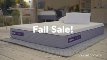 Purple Mattress Fall Sale TV Spot, 'Fall Asleep Comfy: Free Sheets and a Plush Pillow' - Thumbnail 2