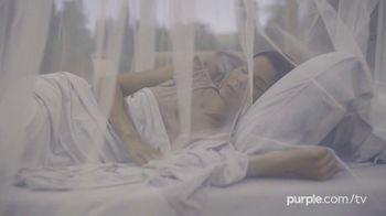 Purple Mattress Fall Sale TV Spot, 'Fall Asleep Comfy: Free Sheets and a Plush Pillow' - Thumbnail 4