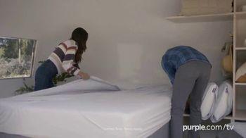 Purple Mattress Fall Sale TV Spot, 'Fall Asleep Comfy: Free Sheets and a Plush Pillow' - Thumbnail 6