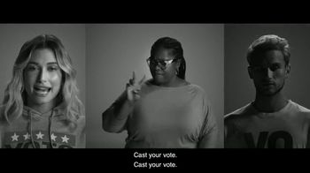 Levi's TV Spot, 'Vote: So Picture This' Featuring Oge Egbuonu, Hailey Rhode Bieber - Thumbnail 10