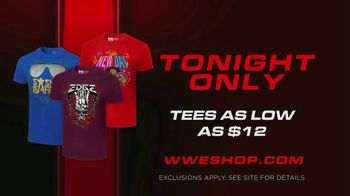 WWE Shop TV Spot, 'Energize Your Style: $12 Tees' Song by Easy McCoy - Thumbnail 7