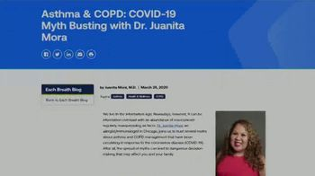American Lung Association TV Spot, 'COVID-19: Stay Safe and Informed' - Thumbnail 6