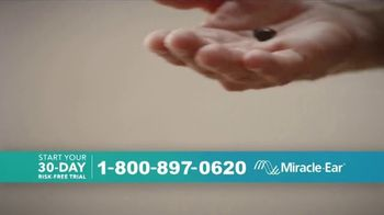 Miracle-Ear TV Spot, 'Nearly Invisible: Risk-Free Trial' - Thumbnail 1