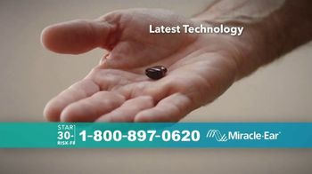 Miracle-Ear TV Spot, 'Nearly Invisible: Risk-Free Trial'