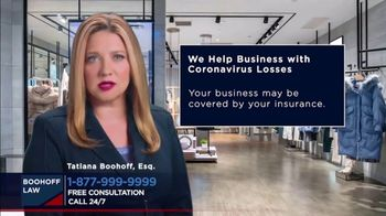Boohoff Law TV Spot, 'Coronavirus Losses'