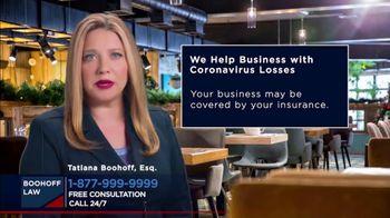 Boohoff Law TV Spot, 'Coronavirus Losses' - Thumbnail 3