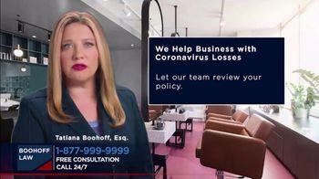 Boohoff Law TV Spot, 'Coronavirus Losses' - Thumbnail 4