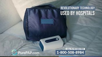PurePAP TV Spot, 'Portable CPAP Cleaner'