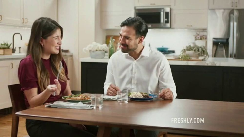 Freshly TV Commercial, 'Eat Better While Staying In'