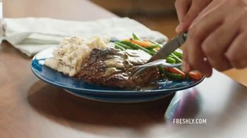Freshly TV Spot, 'Eat Better While Staying In' - Thumbnail 1