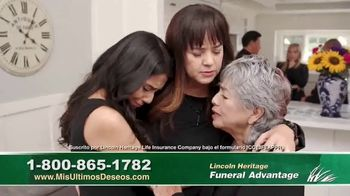 Lincoln Heritage Funeral Advantage TV Spot, 'No es fácil' [Spanish] - Thumbnail 8