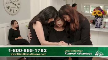 Lincoln Heritage Funeral Advantage TV Spot, 'No es fácil' [Spanish] - Thumbnail 4