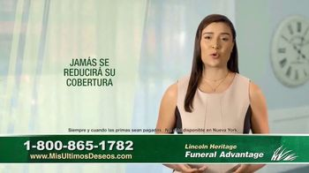 Lincoln Heritage Funeral Advantage TV Spot, 'No es fácil' [Spanish] - Thumbnail 6