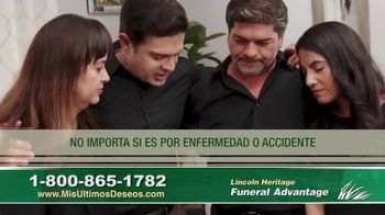 Lincoln Heritage Funeral Advantage TV Spot, 'No es fácil' [Spanish] - Thumbnail 7