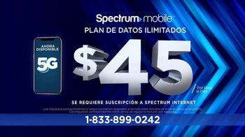 Spectrum Mobile TV Spot, 'Mejor precio: $45 dólares' [Spanish] - Thumbnail 5
