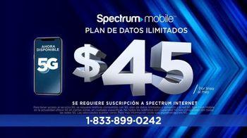 Spectrum Mobile TV Spot, 'Mejor precio: $45 dólares' [Spanish] - Thumbnail 8