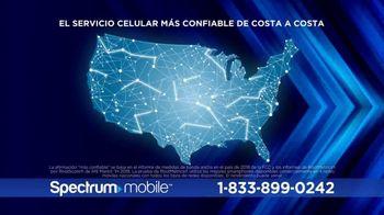 Spectrum Mobile TV Spot, 'Mejor precio: $45 dólares' [Spanish] - Thumbnail 9