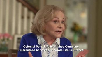 Colonial Penn Guaranteed Acceptance Whole Life Insurance TV Spot, 'Poker'