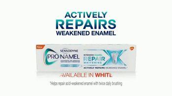 ProNamel Intensive Enamel Repair TV Spot, 'Repairing Damage From Acidic Foods' - Thumbnail 9