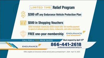 Endurance Direct Relief Program TV Spot, 'Uncertain Times: Protect Your Wallet' - Thumbnail 6
