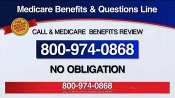 Medicare Benefits Helpline TV Spot, 'Additional Benefits' - Thumbnail 9